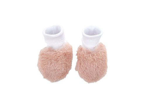 Theophile & Patachou Theophile & Patachou Baby Shoes Fur Pink