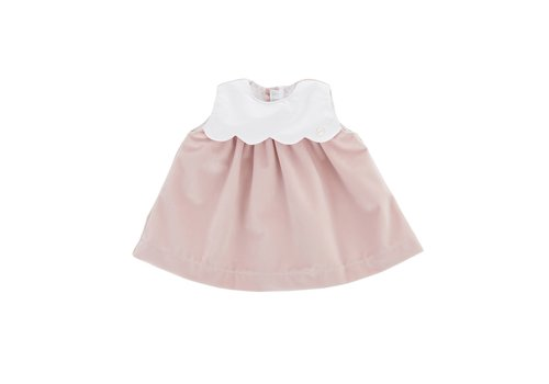 Theophile & Patachou Theophile & Patachou Dress Velvet Pink