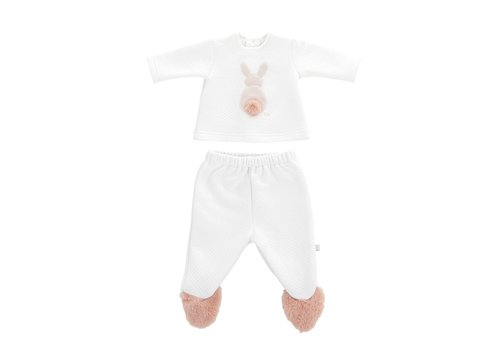 Theophile & Patachou Theophile & Patachou Pyjama Two-Part Bunny Pink
