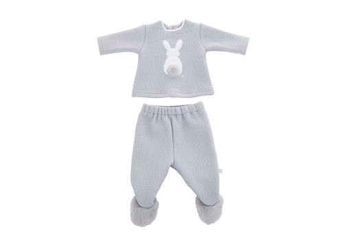 Theophile & Patachou Theophile & Patachou Pyjama Two-Part Bunny Royal Grey