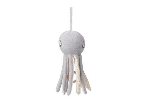 Liewood Liewood Music Mobile Angela Octopus Grey Melange
