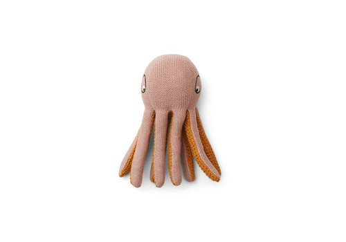 Liewood Liewood Ole Knit Mini Teddy Octopus Rose