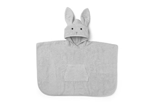 Liewood Liewood Poncho Rabbit Dumbo Grey