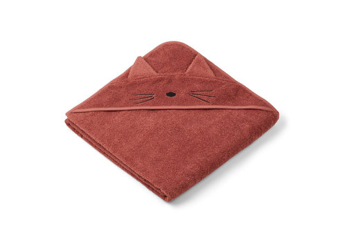 Liewood Liewood Hooded Towel Cat Rusty