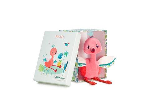 Lilliputiens Lilliputiens Anais Cuddly Flamingo
