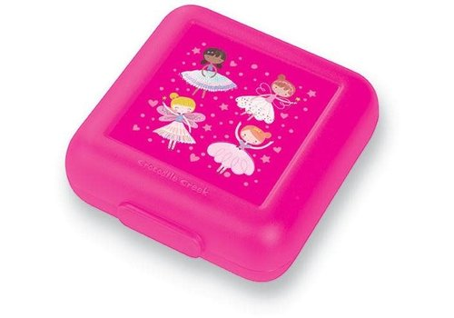 Crocodile Creek Crocodile Creek Lunch Box Pink Wonders