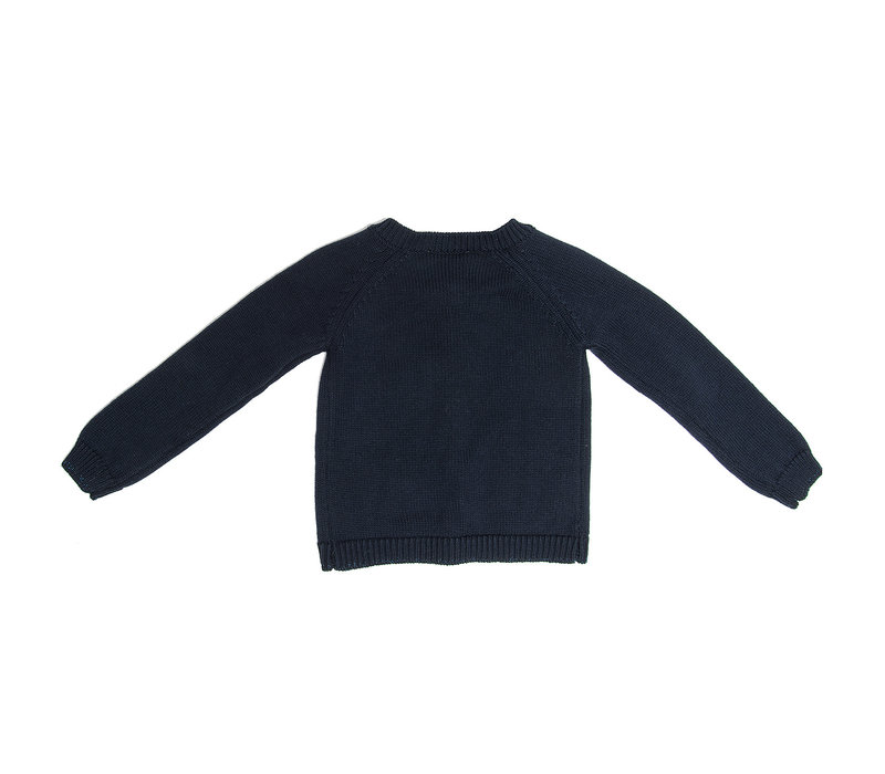 Monnalisa Cardigan Basic Blue