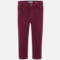 Mayoral 5 Pocket Slim Fit Basic Pant Purple