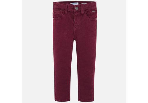 Mayoral Mayoral 5 Pocket Slim Fit Basic Pant Purple