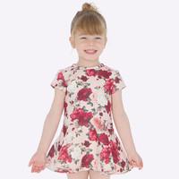 Mayoral Printed Dress Ruby