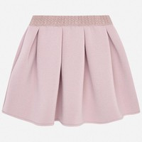 Mayoral Knit Skirt Nude