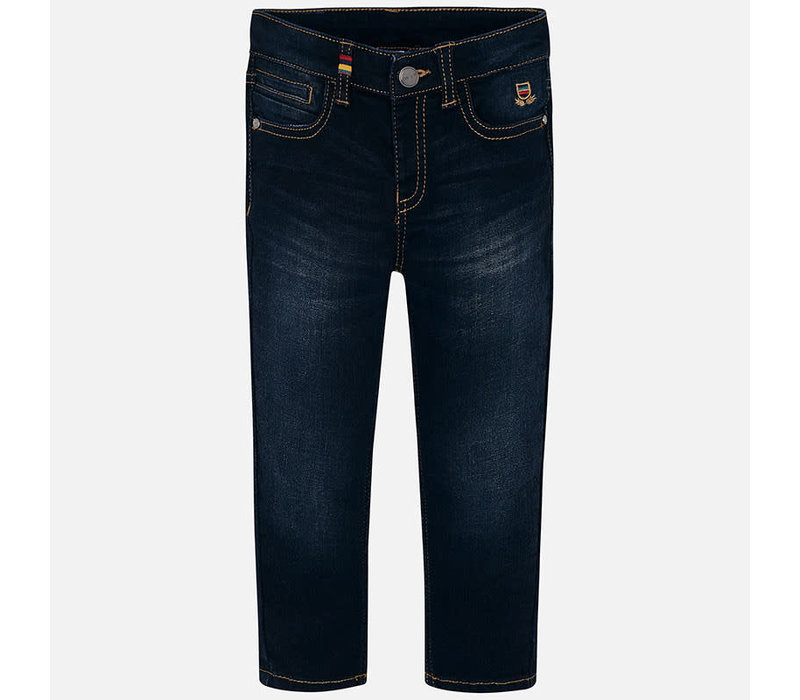 Mayoral Super Slim Denim Pant Denim