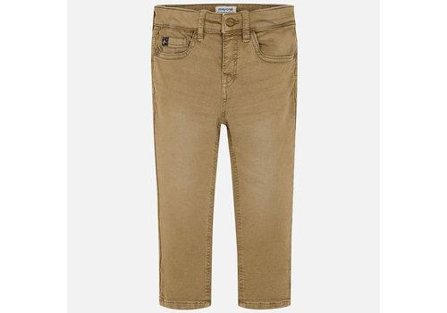 Mayoral Mayoral Soft Slim Fit Pants Brown