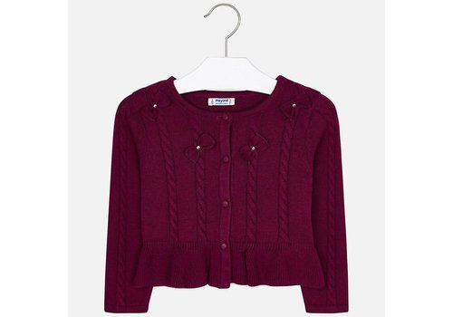 Mayoral Mayoral Knit Cardigan Ruby