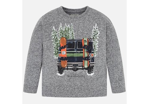 Mayoral Mayoral L/S Shirt Cars Mist
