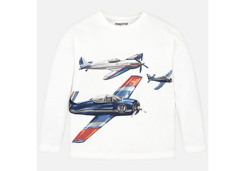 Mayoral Mayoral L/S T-Shirt Cream 4023