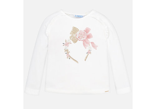 Mayoral Mayoral L/S T-Shirt Natur-Nude
