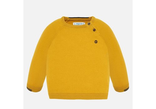 Mayoral Mayoral Basic Cotton Sweater Corn