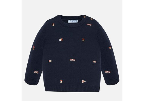 Mayoral Mayoral Embroidered Sweater Universal