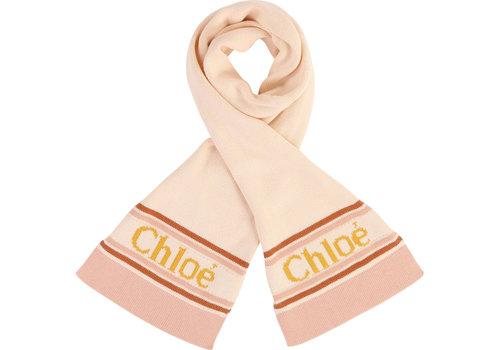 Chloe Chloe Sjaal Licht Roze