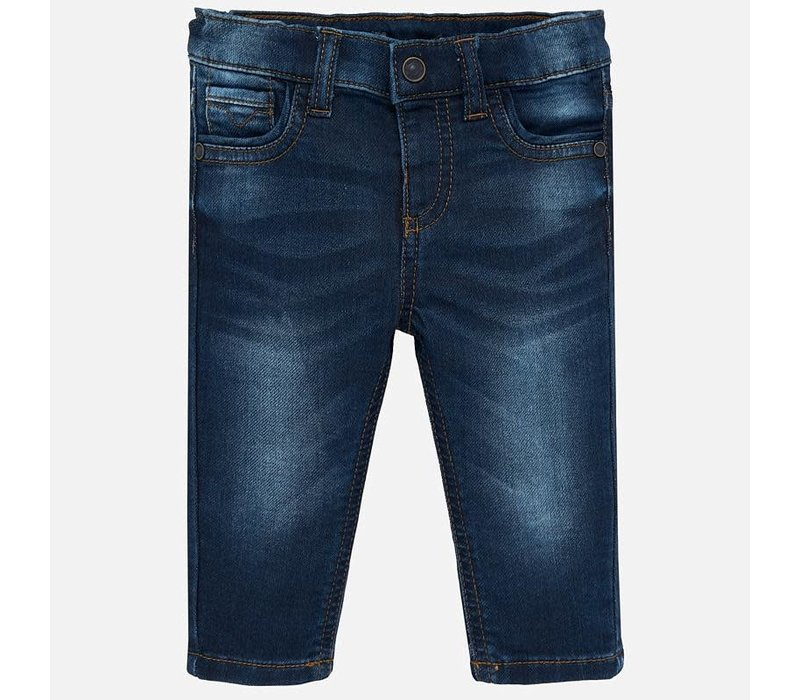 Mayoral Soft Denim Pants Dark
