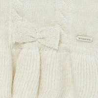 Mayoral Knitting Cardigan Sand