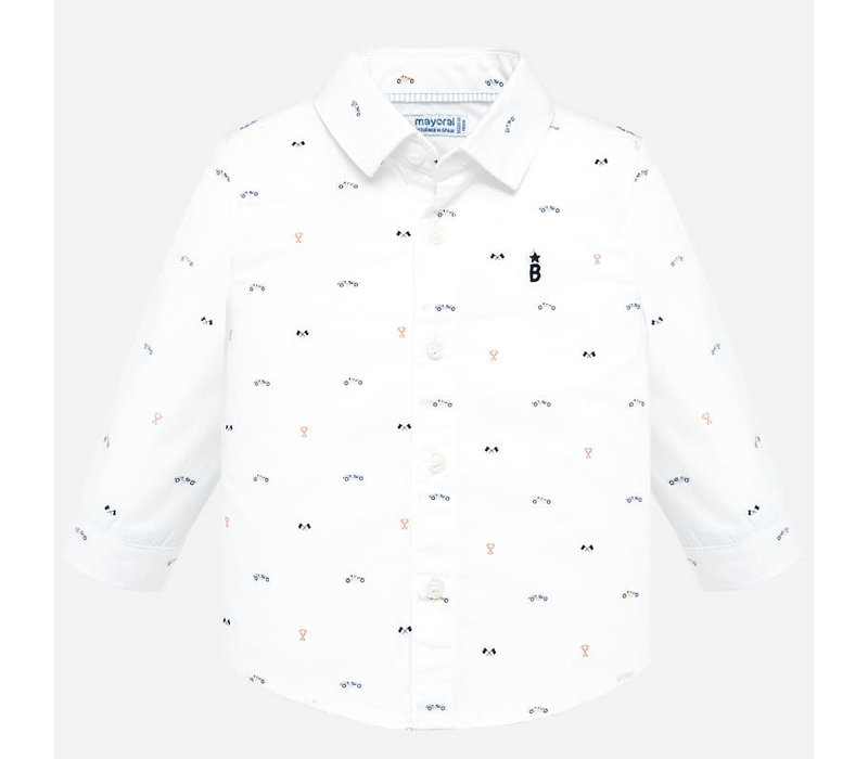 Mayoral L/S Shirt White