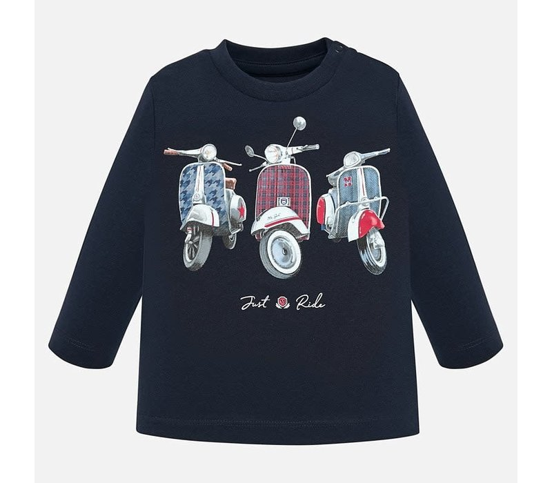 """Mayoral L/S """"Just Ride"""" T-Shirt Universal"""