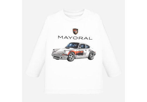 Mayoral Mayoral L/S T-Shirt White