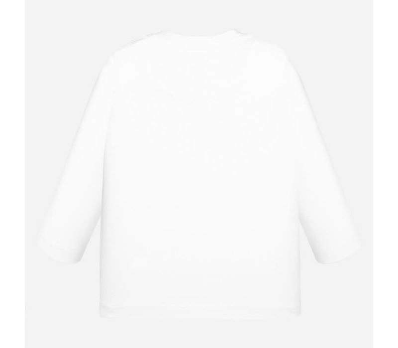 Mayoral L/S T-Shirt White