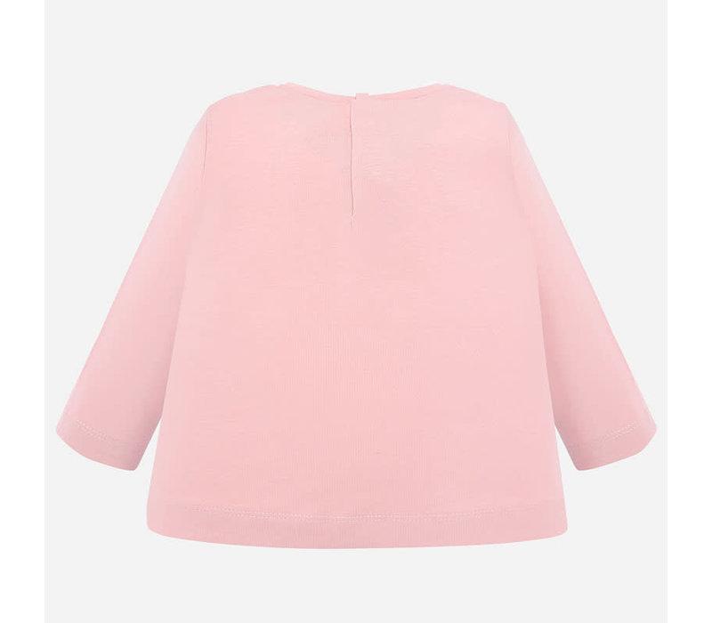Mayoral L/S T-Shirt Rose