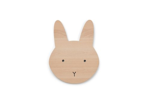 Liewood Liewood Troy Wooden Lamp Rabbit Natural