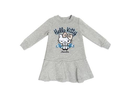 Monnalisa Monnalisa Kleedje Hello Kitty Grijs