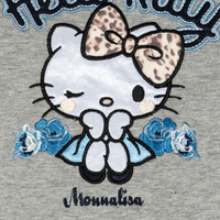 Monnalisa Kleedje Hello Kitty Grijs