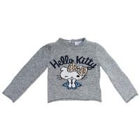 Monnalisa Pull Hello Kitty Grijs