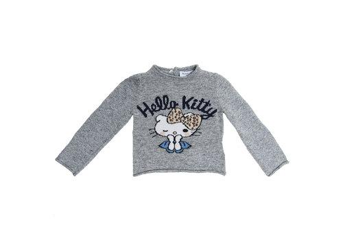 Monnalisa Monnalisa Pull Hello Kitty Grijs
