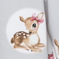 Monnalisa Rok Bambi Grijs