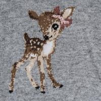 Monnalisa Trui Bambi Grijs