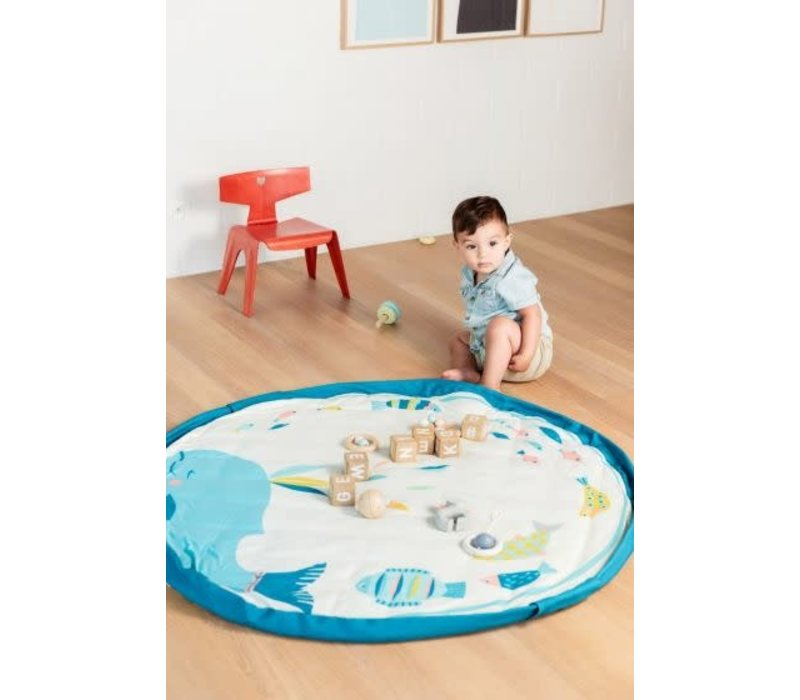 Play & Go Opbergzak - Speelmat Moulin Roty Olga Baby