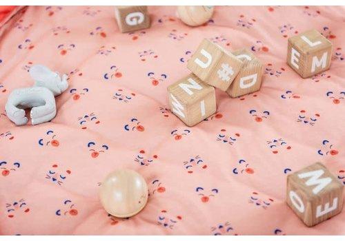 Play&Go Play & Go Opbergzak - Speelmat Dierengezichtjes Baby