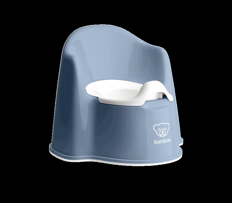 Babybjorn Potje Zetel Diepblauw/Wit