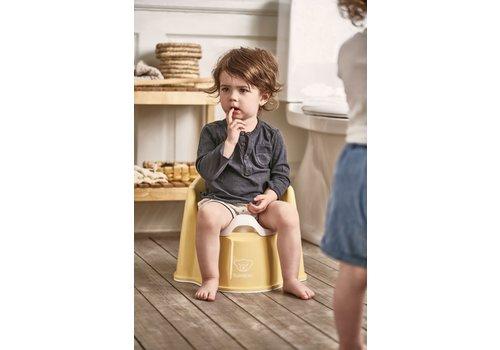 BabyBjörn Babybjorn Potje Zetel Pastelgeel/Wit