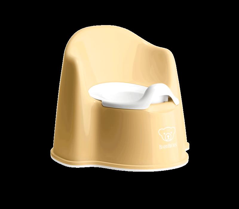 Copy of Babybjorn Potje Zetel Diepblauw/Wit