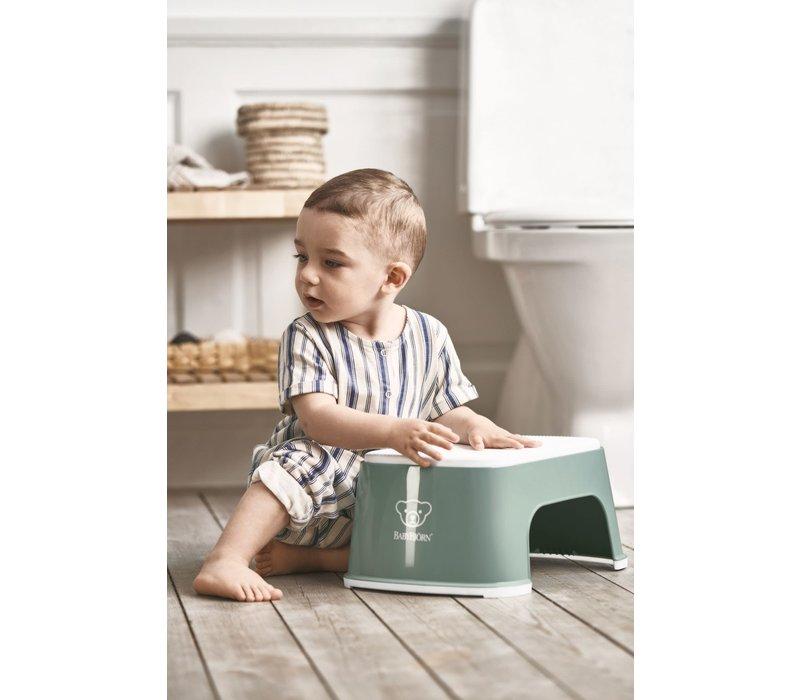 Copy of Babybjorn Opstapje Diepblauw - Wit