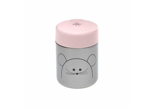 Lassig Lassig Food Jar Little Chums Mouse