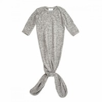 Aden & Anais Snuggle Geknoopte Jurk Heater Grey