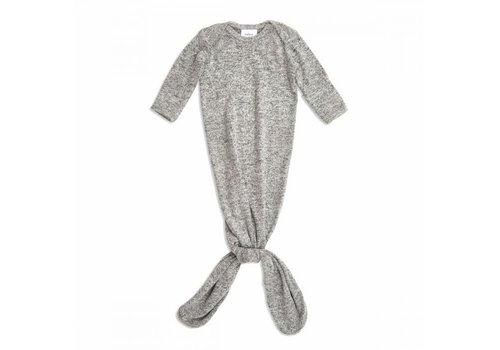 Aden & Anais Aden & Anais Snuggle Geknoopte Jurk Heater Grey