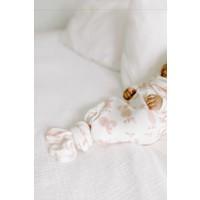Copy of Aden & Anais Snuggle Geknoopte Jurk Heater Grey