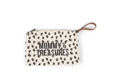 Childhome Copy of Childhome Mommy Clutch Toilettas Navy - Wit