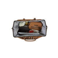 Childhome Mommy Bag Groot Leatherlook Bruin